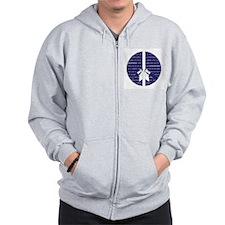 I Choose Peace Zip Hoodie