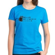 Save a Shelter Cat Tee