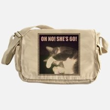 Funny 60th Birthday (Cat) Messenger Bag