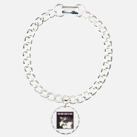 Funny 60th Birthday (Cat) Bracelet