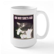 Funny 60th Birthday (Cat) Mug