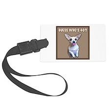 40th Birthday Humor (Dog) Luggage Tag