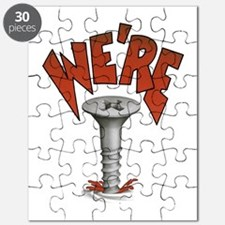 Were Screwed Screw Puzzle