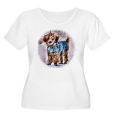 Poodle Christmas T-Shirt