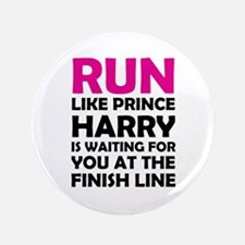 "Run For Prince Harry 3.5"" Button"