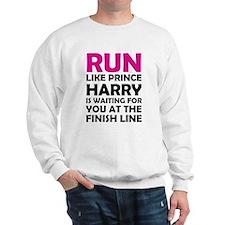 Run For Prince Harry Sweatshirt