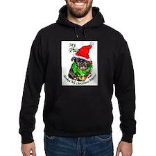 Pug Christmas Hoodie