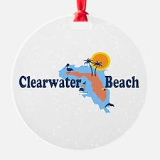 Clearwater FL - Map Design. Ornament