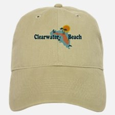 Clearwater FL - Map Design. Baseball Baseball Cap