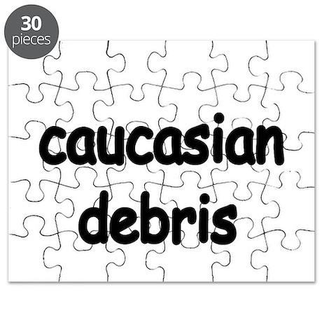 caucasian debris Puzzle