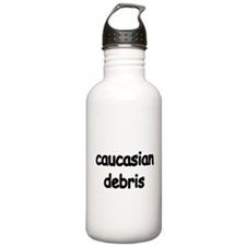 caucasian debris Water Bottle