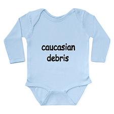 caucasian debris Body Suit