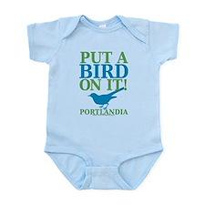 Portlandia Put A Bird On It Body Suit