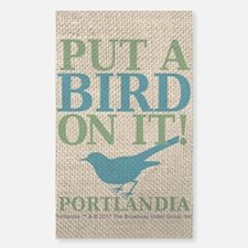 Portlandia Put A Bird On It Decal