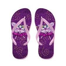Harvest Moons Fairies Flip Flops