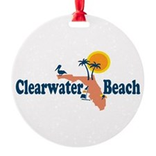Clearwater FL - Map Design. Ornament