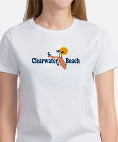 Clearwater FL - Map Design. Tee