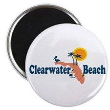 Clearwater FL - Map Design. Magnet