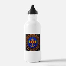 Blue Water Navy Water Bottle