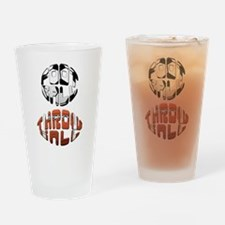 Football Throwball (soccer) Drinking Glass