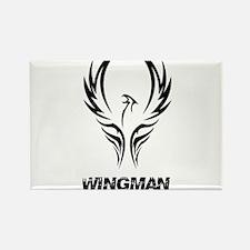 Wingman Rectangle Magnet (10 pack)