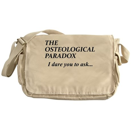 The Osteological Paradox Messenger Bag