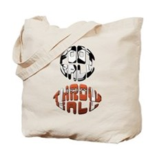 Football Throwball (soccer) Tote Bag