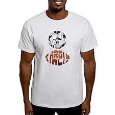 Football Throwball (soccer) T-Shirt