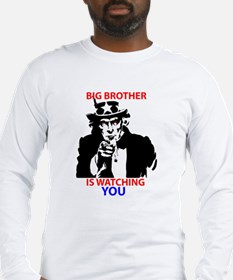 Big Brother is Watching You Long Sleeve T-Shirt