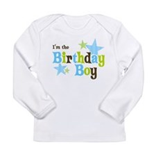 Birthday Boy Long Sleeve T-Shirt