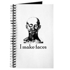 I Make Faces Journal