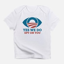 Don't Spy On Me, Bro (With Eye) Infant T-Shirt