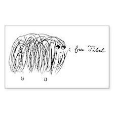 free tibet yak sticker