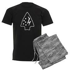 Spirit of the Warrior - (BW) Pajamas