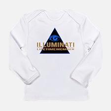 Illuminati Member T-shirt Long Sleeve T-Shirt