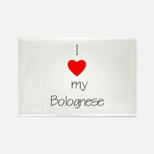 I love my Bolognese Rectangle Magnet (10 pack)