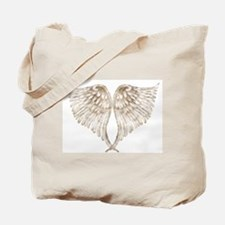 Golden Angel Tote Bag