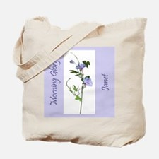 Janet's Morning Glory Tote Bag
