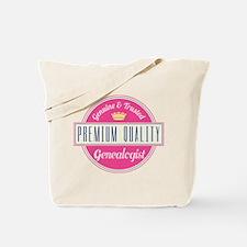 Funny Premium Quality Genealogist Tote Bag
