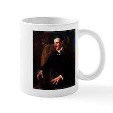 Nikola Tesla - the Blue Portrait Small Mugs