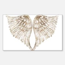 Golden Angel Decal