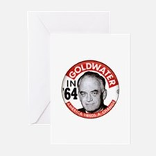 Barry Goldwater in '64 Greeting Cards (Package of