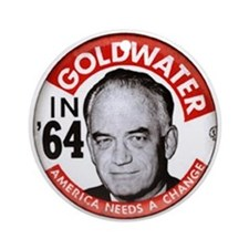 Barry Goldwater in '64 Ornament (Round)