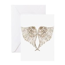 Golden Angel Greeting Card