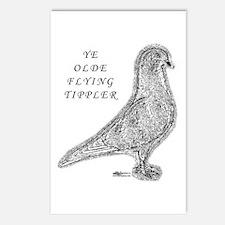 Ye Olde Flying Tippler Pigeon Postcards (Package o