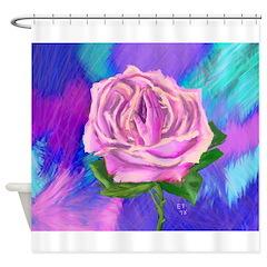 Prayer Rose Shower Curtain
