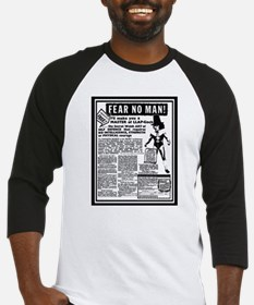 Fear No Man! Baseball Jersey