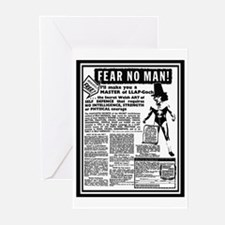 Fear No Man! Greeting Cards (Pk of 10)
