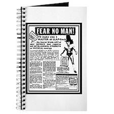 Fear No Man! Journal