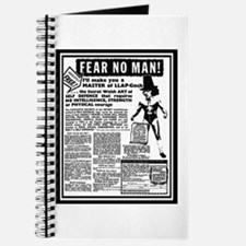 Fear No Man! Journal